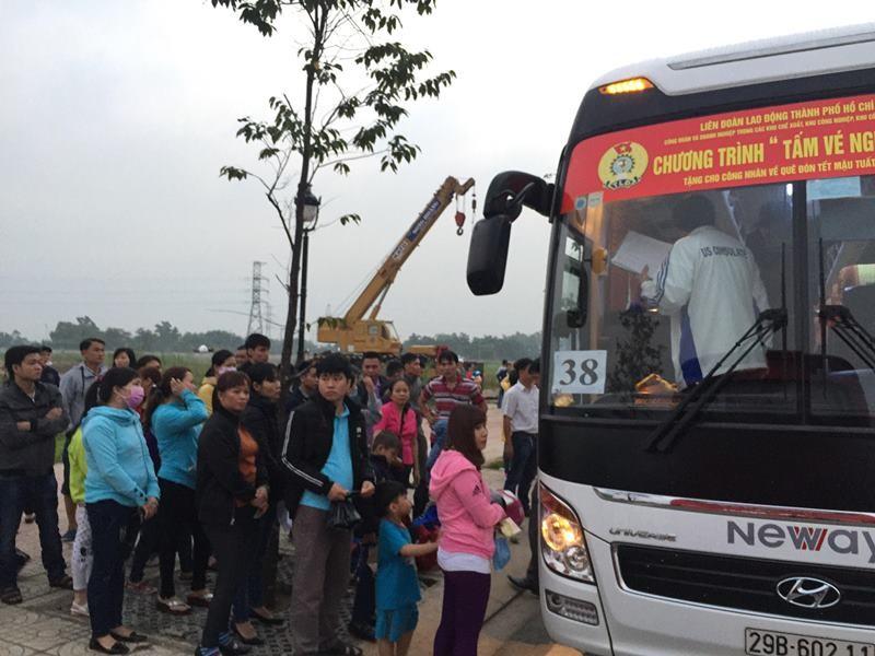 Những công nhân cuối cùng rời TP.HCM về quê đón Tết - ảnh 3