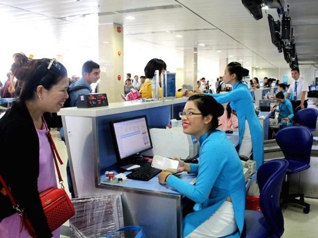 Vietnam Airlines áp dụng quy trình phục vụ mới - ảnh 1