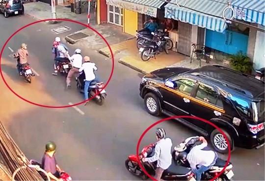 Băng nhóm tổ chức cướp giật, cản địa táo tợn ở Sài Gòn