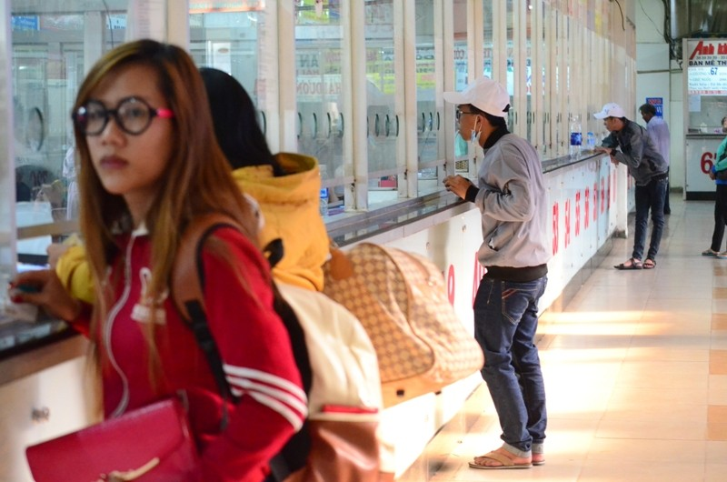 Lễ Giỗ Tổ: Bến xe Miền Đông vắng khách - ảnh 1