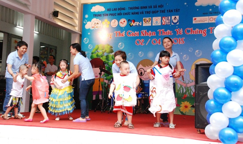 Ấm tình thương trong Ngày Hội của trẻ tự kỷ ở TP.HCM - ảnh 8