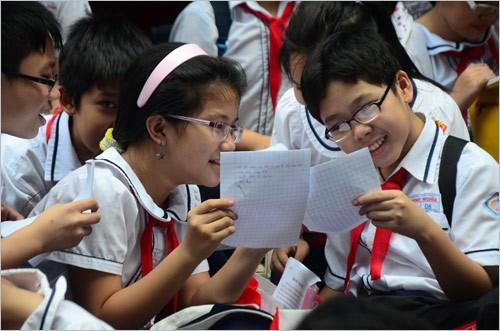 Cấm thi tuyển lớp sáu: Khảo sát bằng bài trắc nghiệm - ảnh 1