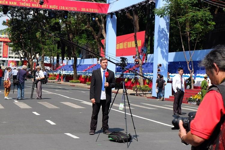 Báo chí nước ngoài viết về Lễ kỷ niệm 40 năm Việt Nam thống nhất - ảnh 3
