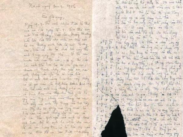 Sức mạnh vĩnh cửu trong tình thư thời chiến của cố nhạc sỹ Thuận Yến - ảnh 1
