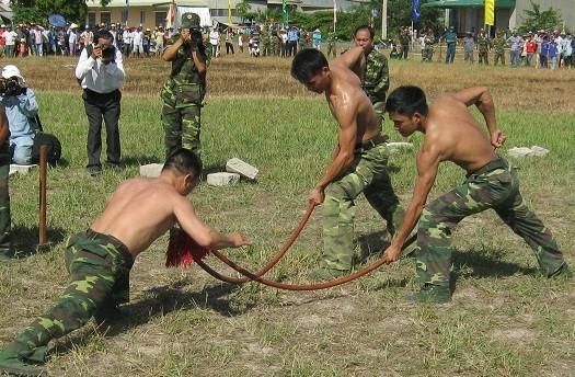 Chùm ảnh biểu diễn võ thuật đầy uy dũng của Bộ đội biên phòng - ảnh 3
