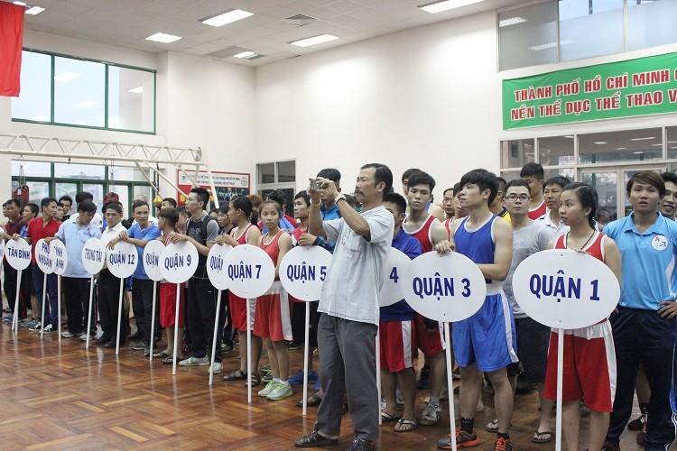 Khai mạc giải vô địch Boxing mở rộng TP HCM năm 2015 - ảnh 1