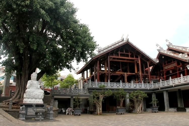 Thăm chùa do Thân Mẫu vua Bảo Đại khởi dựng - ảnh 13