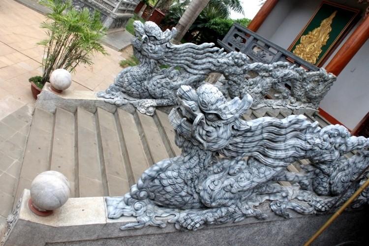 Thăm chùa do Thân Mẫu vua Bảo Đại khởi dựng - ảnh 12