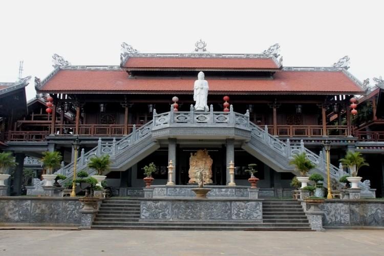 Thăm chùa do Thân Mẫu vua Bảo Đại khởi dựng - ảnh 5