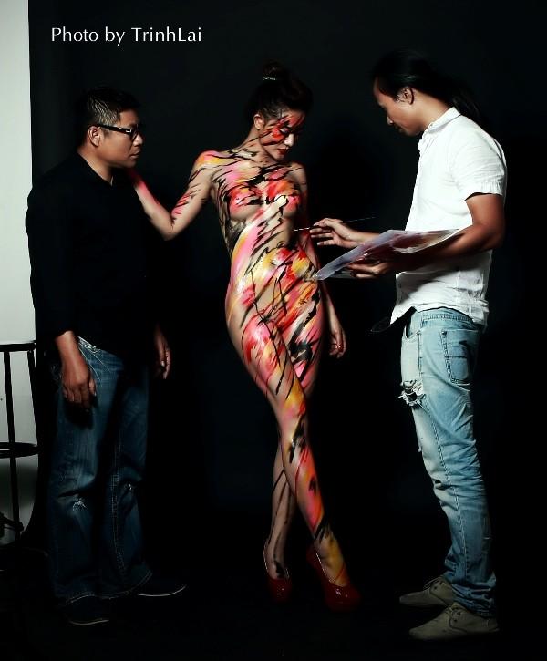 Thưởng thức nghệ thuật body painting qua những tác phẩm nóng bỏng  - ảnh 7