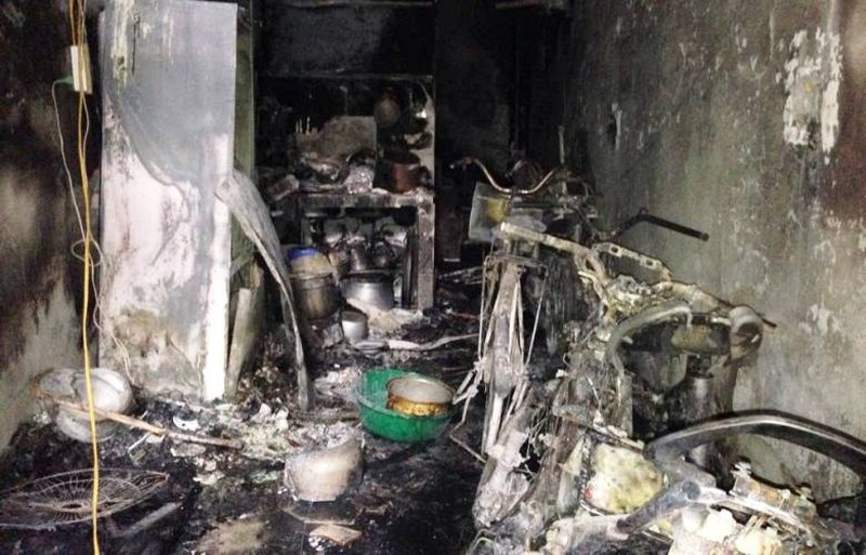 Giây phút sinh tử của gia đình 5 người chết cháy ở Hà Nội - ảnh 1