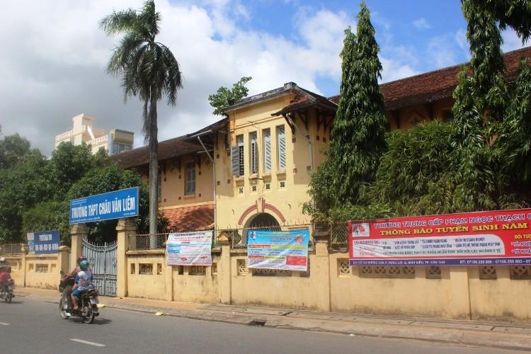 Sở xây dựng sẽ thẩm định phương án trùng tu trường Châu Văn Liêm - ảnh 1