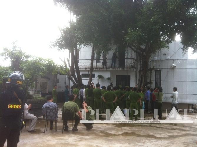 Kết thúc thực nghiệm hiện trường thảm sát Bình Phước - ảnh 8