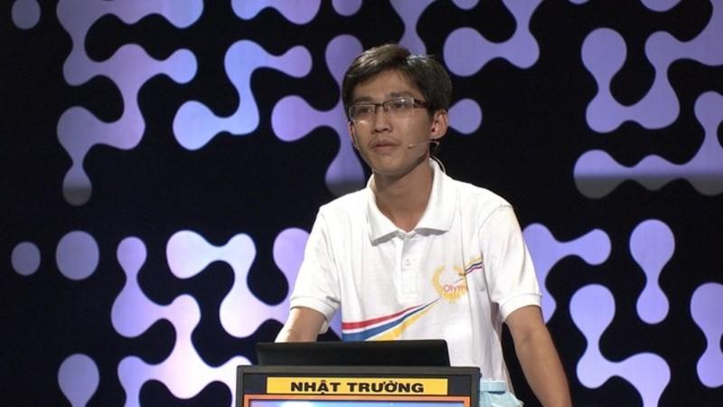 Lần đầu tiên một học sinh Bình Thuận lọt vào chung kết năm Đường lên đỉnh Olympia - ảnh 1