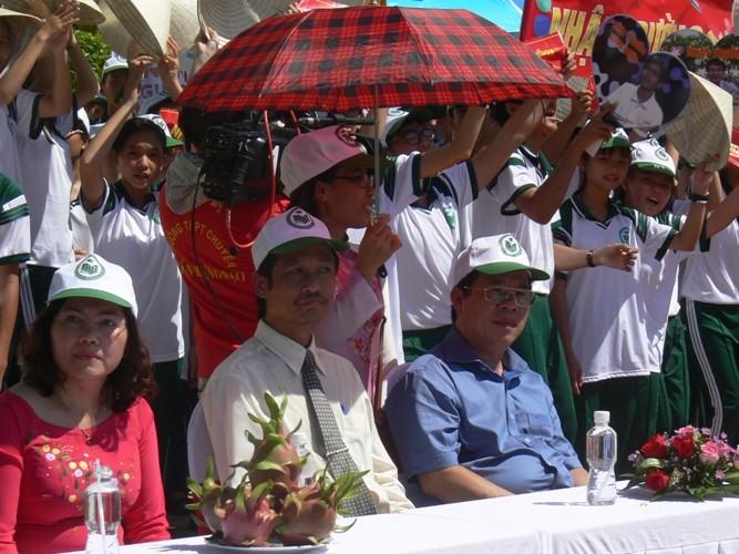 Lần đầu tiên một học sinh Bình Thuận lọt vào chung kết năm Đường lên đỉnh Olympia - ảnh 6