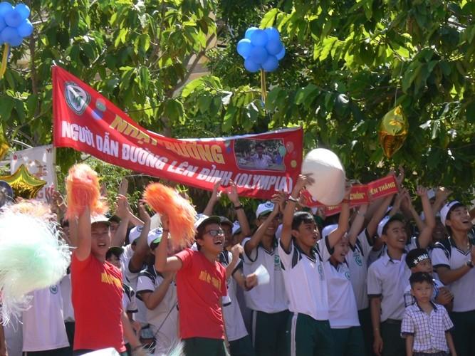 Lần đầu tiên một học sinh Bình Thuận lọt vào chung kết năm Đường lên đỉnh Olympia - ảnh 5