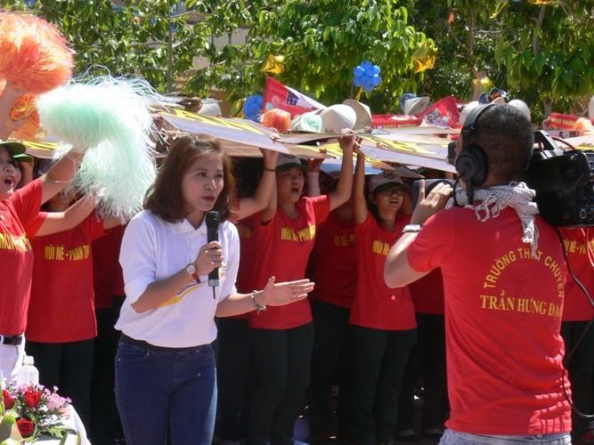 Lần đầu tiên một học sinh Bình Thuận lọt vào chung kết năm Đường lên đỉnh Olympia - ảnh 2