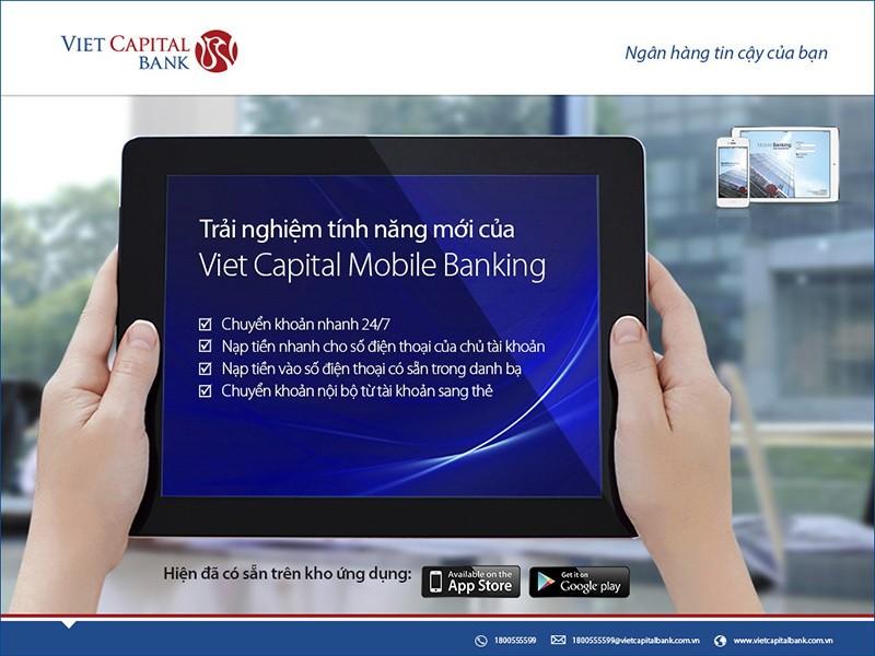 Chuyển tiền nhanh qua Viet Capital Mobile Banking - ảnh 1