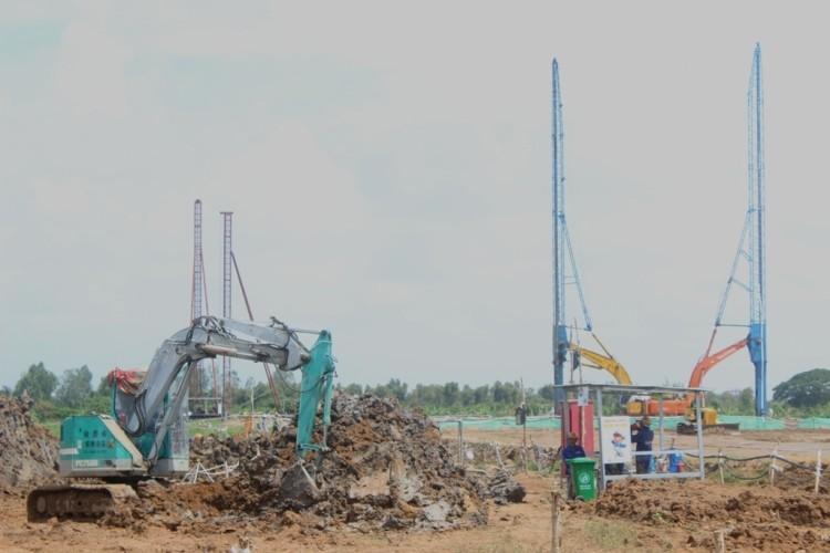 Nhiệt điện Sông Hậu 1: Dự kiến 1-2016 thi công móng cọc nhà máy chính - ảnh 1