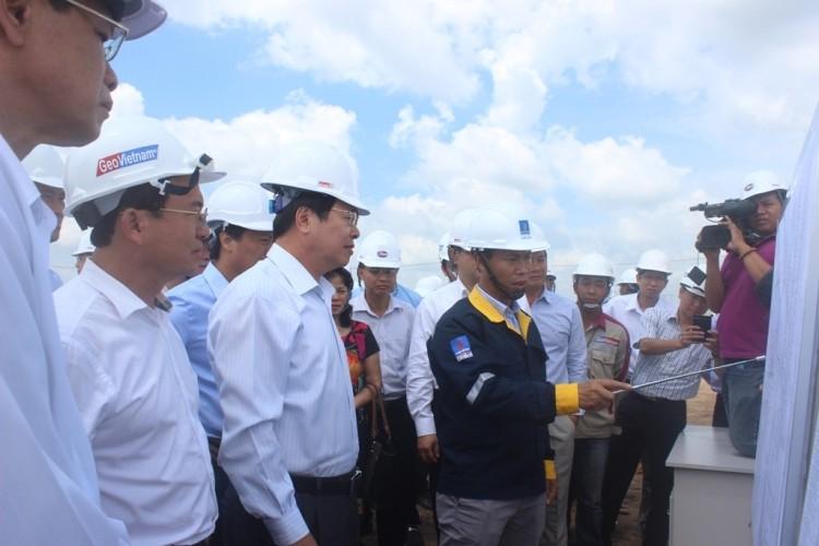 Nhiệt điện Sông Hậu 1: Dự kiến 1-2016 thi công móng cọc nhà máy chính - ảnh 2