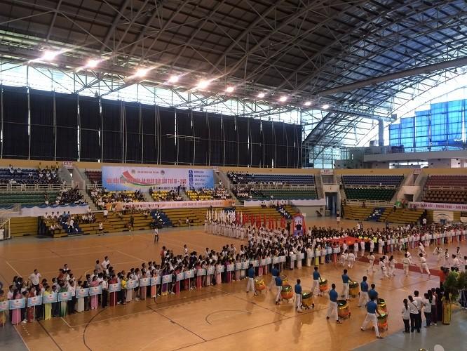 Khai mạc Đại hội Thể thao TAND lần thứ III - ảnh 1