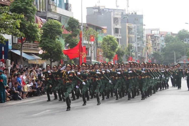 Toàn cảnh lễ mít tinh mừng 70 năm ngày Quốc khánh 2-9 - ảnh 9