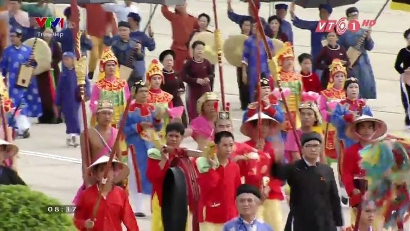 Toàn cảnh lễ mít tinh mừng 70 năm ngày Quốc khánh 2-9 - ảnh 19