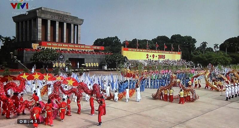 Toàn cảnh lễ mít tinh mừng 70 năm ngày Quốc khánh 2-9 - ảnh 20