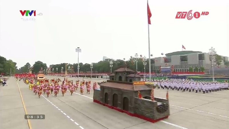 Toàn cảnh lễ mít tinh mừng 70 năm ngày Quốc khánh 2-9 - ảnh 17
