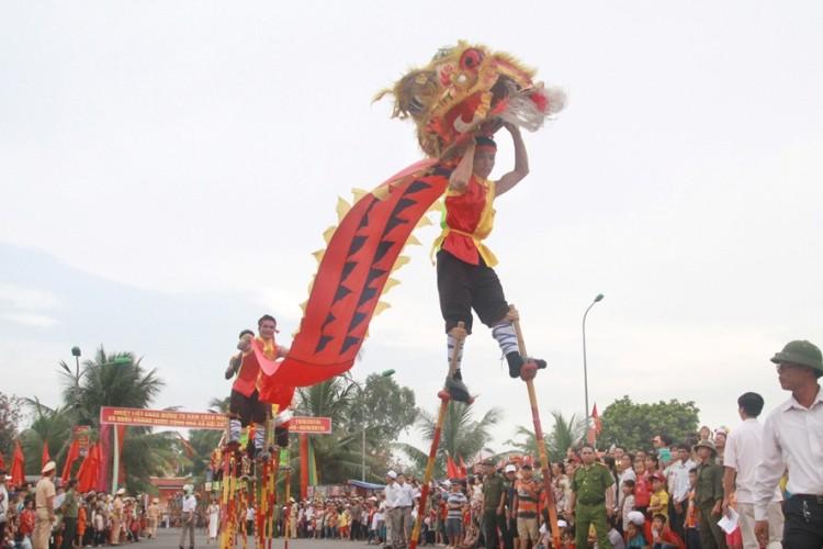 Lễ hội độc đáo mừng Quốc khánh ở một vùng quê Bắc bộ - ảnh 5