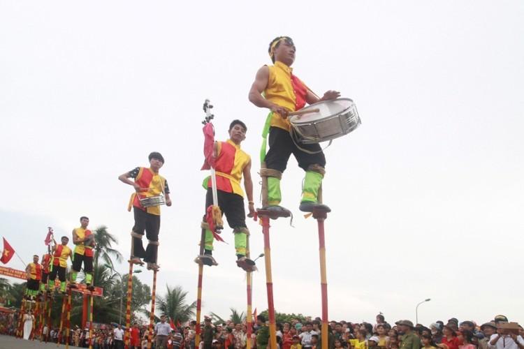 Lễ hội độc đáo mừng Quốc khánh ở một vùng quê Bắc bộ - ảnh 6