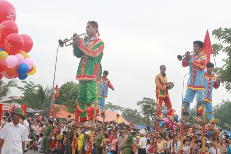 Lễ hội độc đáo mừng Quốc khánh ở một vùng quê Bắc bộ - ảnh 7