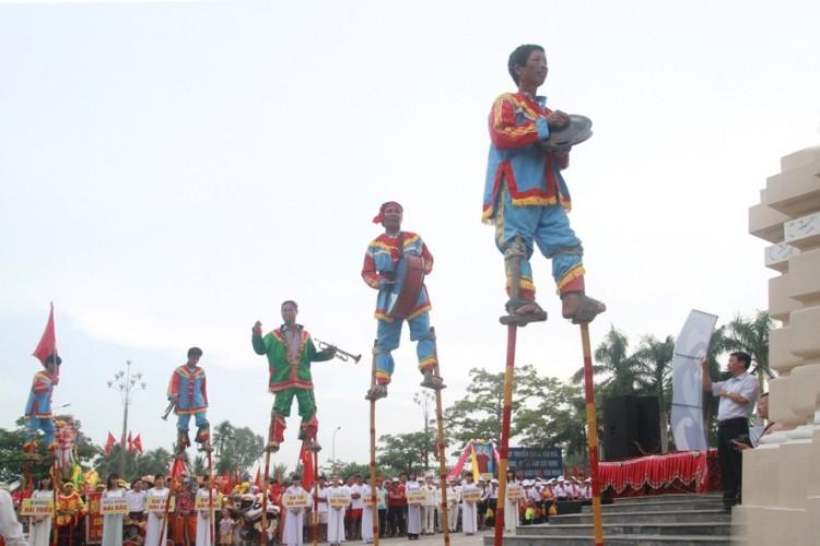Lễ hội độc đáo mừng Quốc khánh ở một vùng quê Bắc bộ - ảnh 9