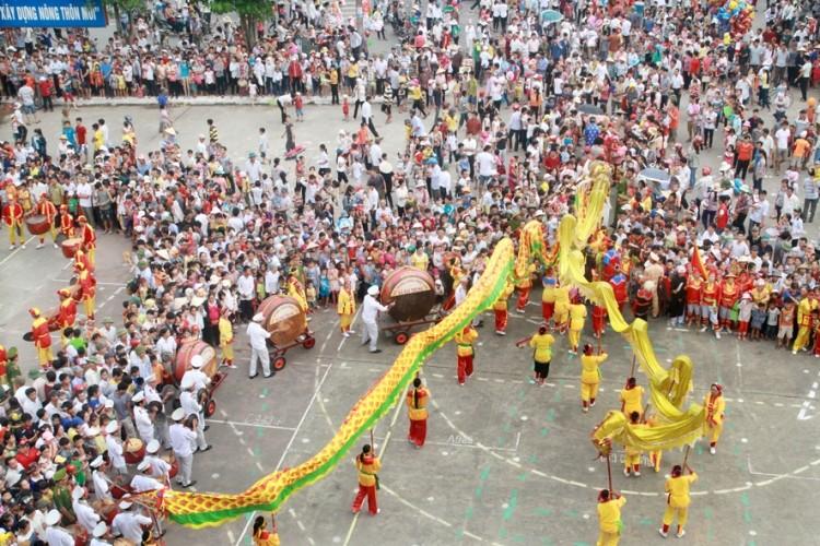 Lễ hội độc đáo mừng Quốc khánh ở một vùng quê Bắc bộ - ảnh 4