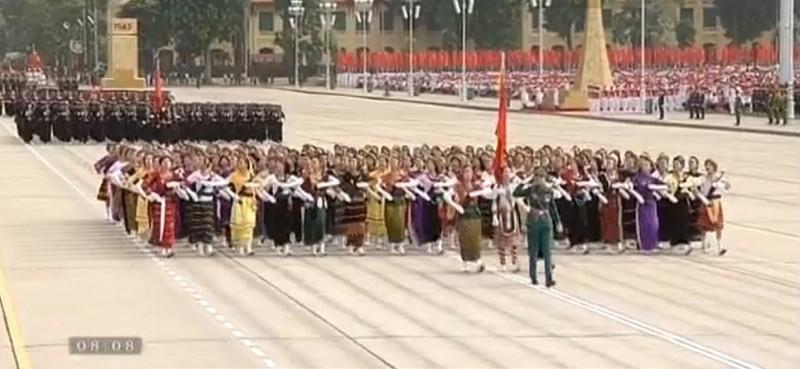 Toàn cảnh lễ mít tinh mừng 70 năm ngày Quốc khánh 2-9 - ảnh 44
