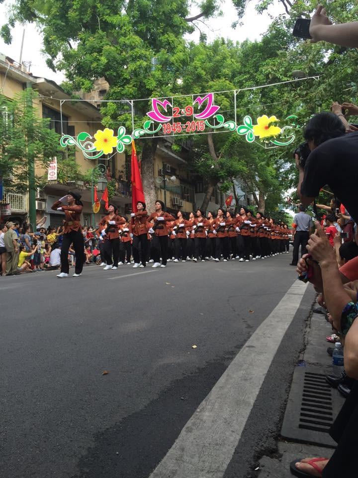 Toàn cảnh lễ mít tinh mừng 70 năm ngày Quốc khánh 2-9 - ảnh 5