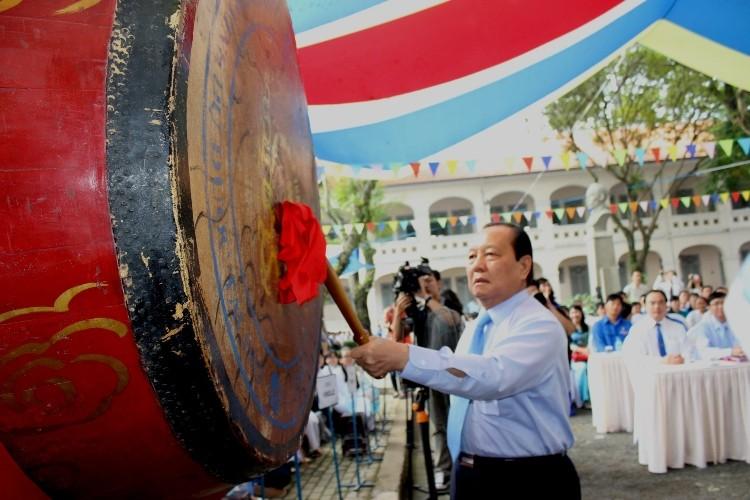 Trường chuyên Lê Hồng Phong hân hoan khai giảng năm học mới  - ảnh 6