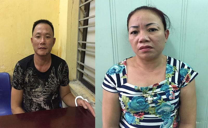 Bắt cặp vợ chồng 'mượn' đường xe khách để buôn ma túy - ảnh 1
