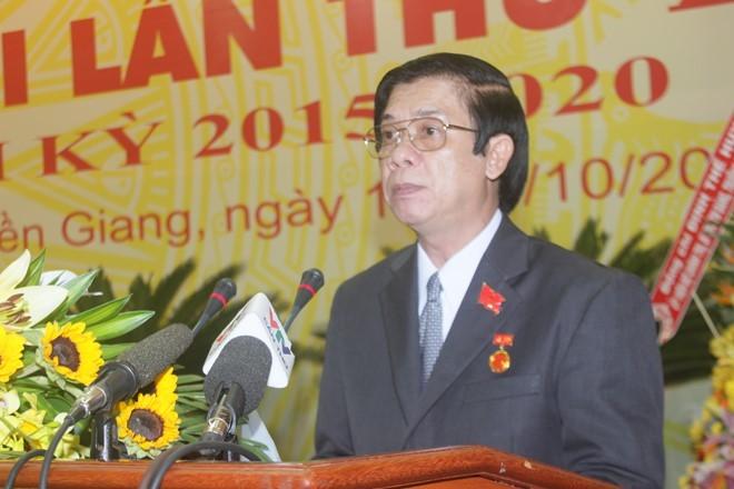 Tiền Giang: Phó bí thư thường trực được bầu giữ chức bí thư Tỉnh ủy - ảnh 1