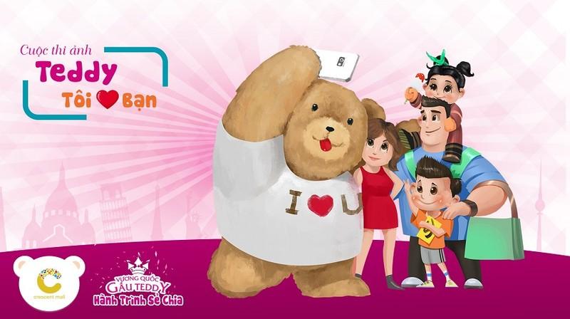 Đón sinh nhật tưng bừng cùng gấu Teddy - ảnh 1