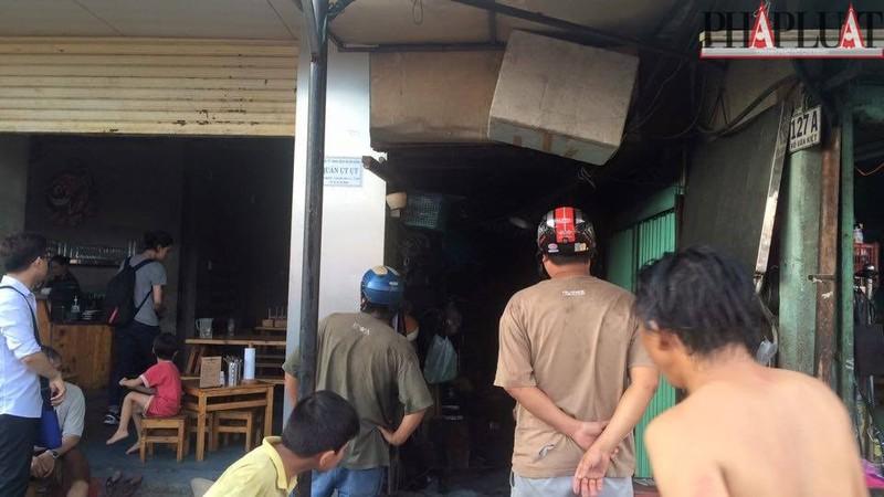Cháy dữ dội hàng loạt căn nhà giữa trung tâm Sài Gòn - ảnh 9