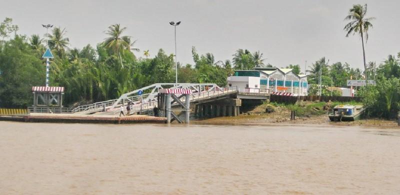 Trên 5.700 tỉ đồng xây cầu nối liền Trà Vinh - Sóc Trăng - ảnh 1