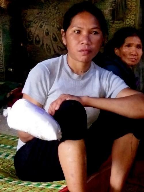 Vụ người dân nhập viện vì quà tết: Gạo có mùi xà phòng - ảnh 2