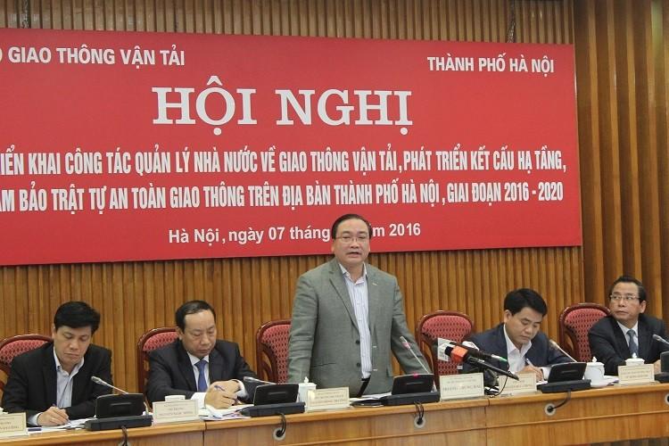 Ông Hoàng Trung Hải: Hạ tầng giao thông Hà Nội ở mức báo động - ảnh 1