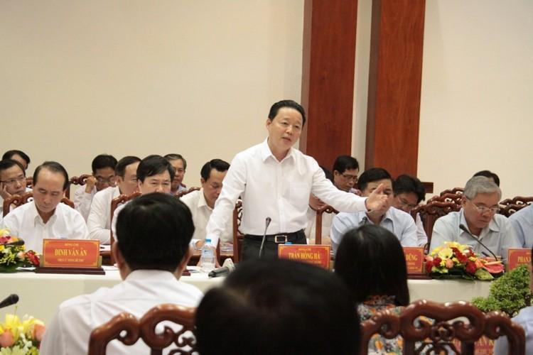Tiền Giang cần 3.700 tỉ đồng phòng chống biến đổi khí hậu - ảnh 2