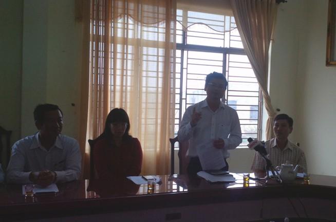 Phó giám đốc trung tâm quỹ đất Đà Nẵng trực tiếp xin lỗi dân - ảnh 2