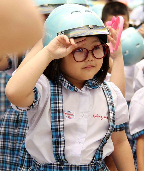 """Khởi động cuộc thi ảnh trực tuyến """"Đội mũ cho con - Trọn tình cha mẹ"""" - ảnh 1"""