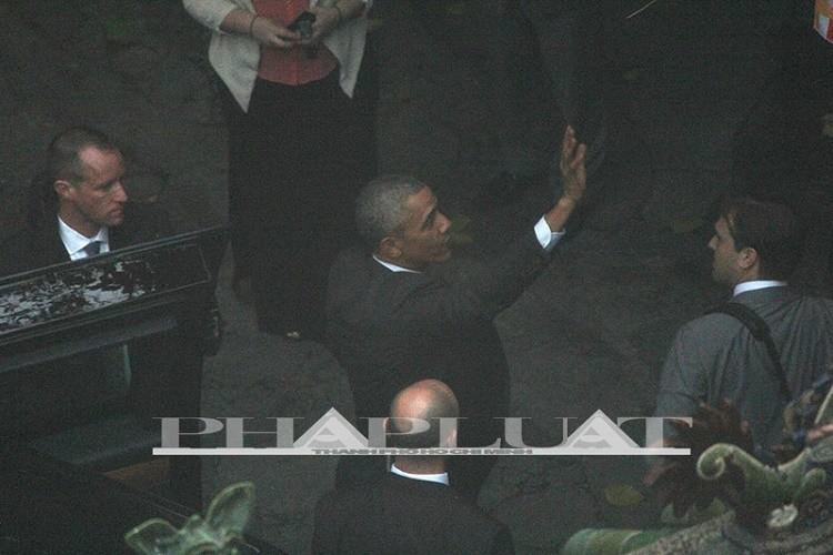 Tổng thống Obama kết thúc ngày làm việc đầu tiên tại TP.HCM - ảnh 12