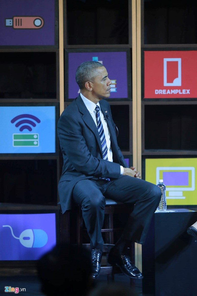 Tổng thống Obama hai lần khẳng định tin tưởng doanh nhân trẻ - ảnh 2