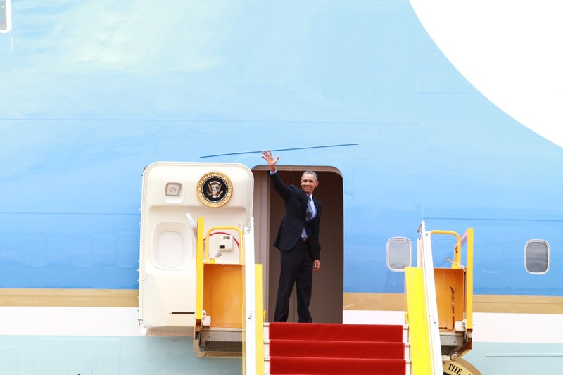Tổng thống Obama kết thúc tốt đẹp chuyến thăm Việt Nam - ảnh 58